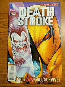 Deathstroke #12 New 52 Key NM- Liefeld Lobo Hulk 340 Cover 1st Pr Teen Titans DC