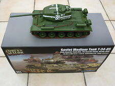 Forces of Valor 1:24 T-34/85 Infrared IR Combat R/C Tank by Waltersons *New*