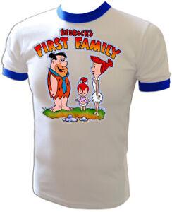 VTG 70's FRED FLINTSTONE Flintstones Pebbles TV cartoon Iron-On UNUSED T-Shirt