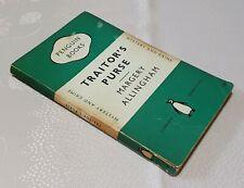 Margery Allingham - Traitor's Purse - Penguin Books UK 1st Ed - 1950  #772