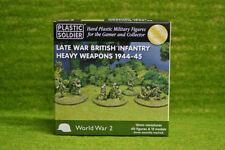 PLASTIC Soldier Company WW2 FINE GUERRA FANTERIA BRITANNICA ARMI pesanti 1944 45 15mm