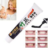 100g Bambus Kohle Allzweck Zahnweiß-saubere schwarze Zahnpasta Pflege KS