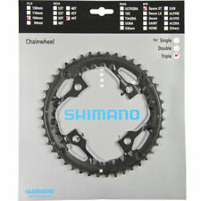 Bike Chain Ring Shimano Fct781 Deore XT Triple Outer Black 44t