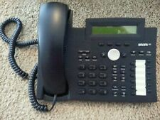 Snom 320 SIP 4 Line Phone with Caller ID - Black