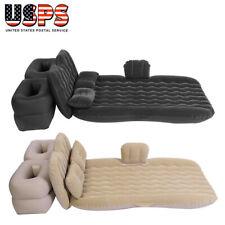 Inflatable Travel Car Mattress Air Bed Back Seat Sleep Rest Mat with Pillow/Pump