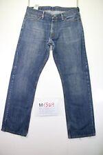 Levi's 514 (Cod. M1389) tg50 W36 L34 jeans usato vintage ORIGINALE