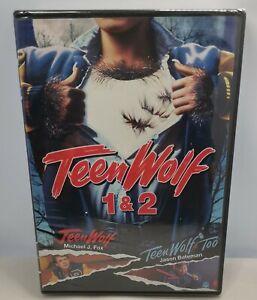 Teen Wolf 1 & 2 [New DVD]
