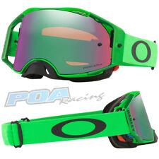 New 2021 Oakley Airbrake MX Goggle Moto Green – Prizm Jade Iridium Lens