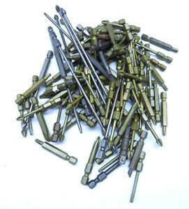 2 LBS of Aircraft Grade Apex Hex Screwdriver Bits From Boeing Aircraft USA Made