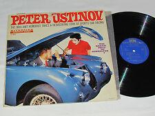 PETER USTINOV The Grand Prix Of Gibraltar LP Riverside RLP 12-833 USA Car Cover
