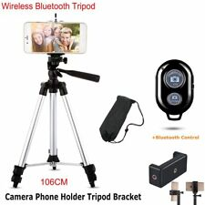 Universal Bluetooth Mobile Phone Tripod Stand Holder Mount For iPhone Camera AU