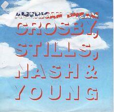 7inch CROSBY STILLS NASH & YOUNG american dream GERMAN 1988 EX/SOC