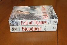 THE GODLESS WORLD BOOK 2 BLOODHEIR 3 FALL OF THANES BRIAN RUCKLEY PAPERBACK BOOK