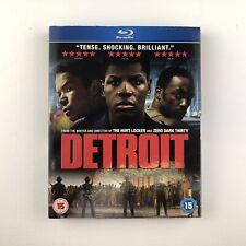 Detroit (Blu-ray, 2017) s *New & Sealed*