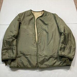 M1951 Field Jacket Liner Small US Army USMC Fishtail Korean Vietnam Freeze