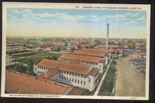 POSTCARD AURORA CO/COLORADO FITZSIMONS MILITARY HOSPITAL BIRD'S EYE VIEW 1920'S
