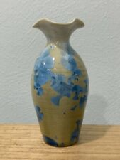 Uwharrie Crystalline Seagrove North Carolina Pottery Vase