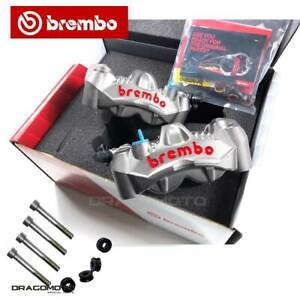 Brembo Calipers Kit GP4-RS 108 mm with Brake pads + 220A06115 spacers