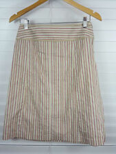 Cue Nylon Striped Skirts for Women