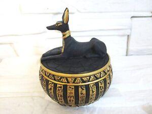 Anubis Totengott Schatulle Dose Ägypten Egypt NEU 10 cm