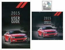 2015 Dodge Charger User Guide plus Owners Manual DVD Operator Book