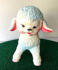 Antique VTG LAMB The Sun Rubber Company 1961 Roller Squeak Squeaky BABY Toy USA