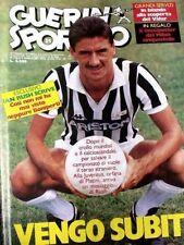 GUERIN SPORTIVO=N°31 1986=MAXIPOSTER MILAN 86/87=EMILIO BUTRAGUENO= RAMON DIAZ@@