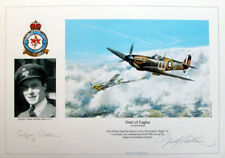 Geoffrey Wellum - signed Battle of Britain print