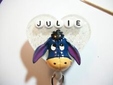 PERSONALIZED EEYORE RN NURSE PEDIATRICIAN TEACHER STUDENT ID BADGE HOLDER
