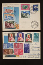 Vatican Stamps on First Day Covers FDC