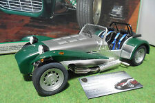 CATERHAM SUPER SEVEN BDR verde/grigio 1/12 kit montato TAMIYA 10201 macchina