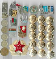 Rare Old LENIN Medal Pin COLD WAR Russia CCCP Coin Vintage Collection Lot Y21 us