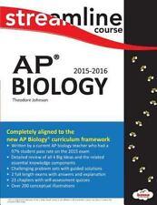 Streamline AP Biology : B&W Print by Theodore Johnson (2015, Paperback)