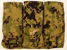 Eagle Industries Triple MAG Pouch AOR2 Molle SEAL DEVGRU NSW RARE NEW -- AOR1