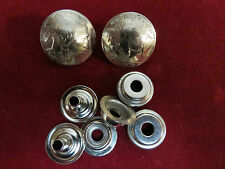 """SNAP Set: 2 Real Coin High Grade """"Buffalo & Indian"""" Nickle, w/ all parts"""