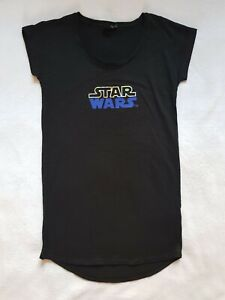 DISNEY chemise de nuit STAR WARS noir taille S ou M pyjama