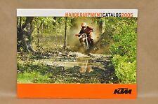 New 2005 Ktm Racing Hard Equipment Parts Apparel Accessories Catalog Book