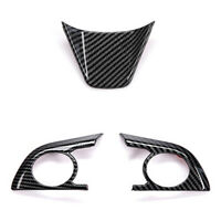 3PCS Steering Wheel Button Decorative Cover for Toyota Camry 2018 2019 8Th  R2N9