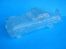 1955 - 1957 FORD THUNDERBIRD T BIRD GLASS CAR LEAD CRYSTAL AUTO PAPERWEIGHT