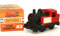 LESNEY MATCHBOX NO. 43 STEAM LOCOMOTIVE - A/MINT BOXED