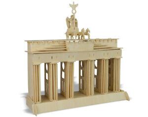 Donau Elektronik M874 - Woodcraft Construction Kit Brandenburg Gate