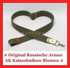 ☆ Realer AK-Riemen für Kalaschnikow Sturmgewehr, oliv - neues Modell Russ.Armee