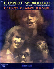 Ccr / Creedence Clearwater Revival 1970 Lookin' Out My Back Door Sheet Music