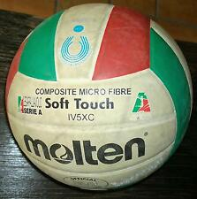 PALLONE PALLAVOLO VOLLEY MOLTEN Soft Touch IV5XC biancorossoverde