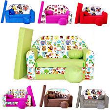 Minicouch Kindersofa 3in1 Baby Set + Kindersessel Kissen Matratze Bettfunktion