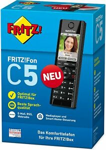 Fachhändler AVM FRITZ!Fon C5 DECT-Komforttelefon Farbdisplay HD-Telefonie