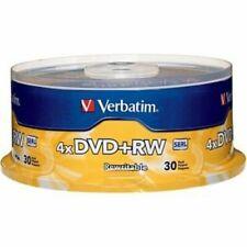 Verbatim 94834 DVD RW 30pk Spindle 4.7gb 4x