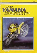 Clymer Yamaha YZ100-490 Moonshock 1976-1984 Service, Repair, Maintenance Manual