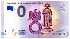Billet Touristique - 0 Euro - France - Colonne de la grande Armée (2018-1)