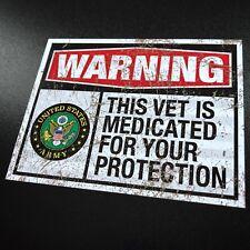 Medicated Veteran ARMY Vintage - Sticker
